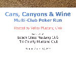 Multi-Club Poker Run - August 17, 2014