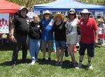 Jim & Margaret Foster with Founding Members Dennis & Jenny Adler and Julie & Bud Vashaw