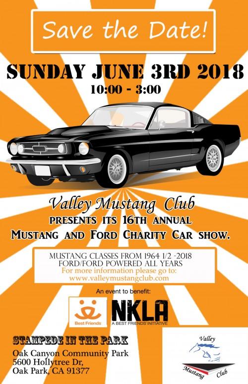 Valley Mustang Club Car Show - Car show goody bag stuffers